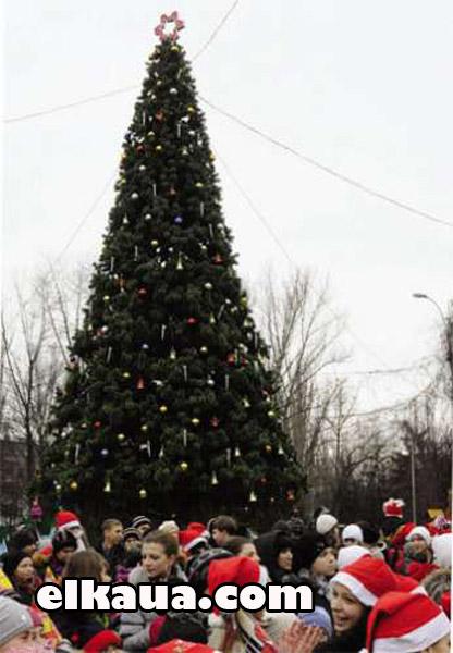Рождественская елка 4 м